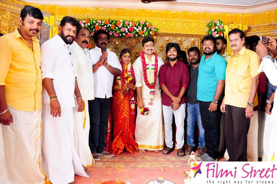 Wedding images of Kuppathu Raja Producer M Saravanan