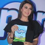 Actress Hansika Launches Super Washing Detergent Powder