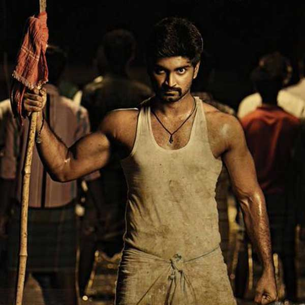 Atharvaamurali in Chandi Veeran First Look