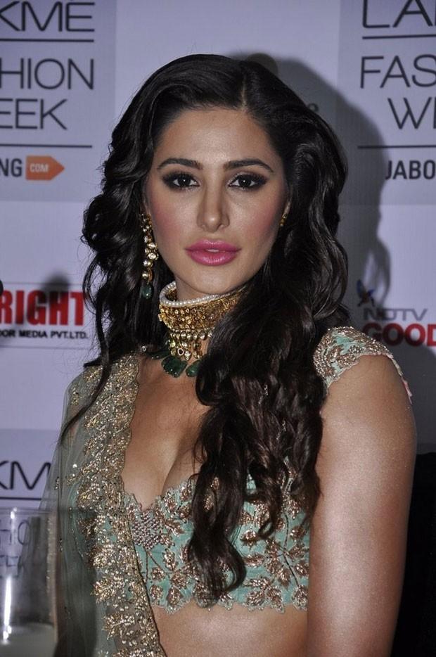 Nargis Fakhri Hot Latest Photos In Black Saree - Actress Album