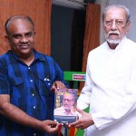 Actor Charuhaasan's Thinking On My Feet Book Launch