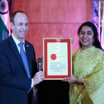 Actress Suhasini Maniratnam sworn in as Honorary Consul of the Grand Duchy of Luxembourg