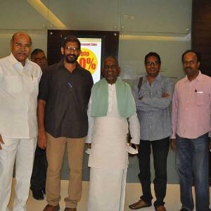 Ilayaraja Watches Rudramadevi Trailer