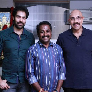 Jackson Durai Movie Pooja Stills