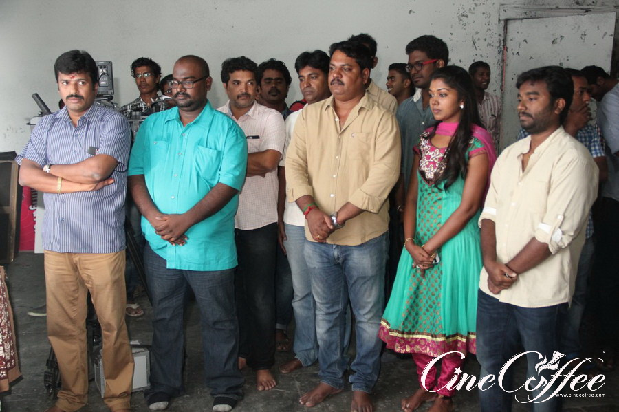 Oru Naal Koothu Movie Poojai Photos