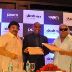 Shanti Theatre and Akshaya Joint Venture Press meet