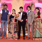 Actor Bharath Sister Wedding Reception Stills
