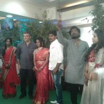 Pro Suresh Chandra Daughter Reception Stills