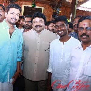 Vijay – Atlee film Movie Pooja Stills