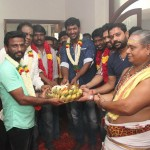 Vishal Film Factory Production No 11 Pooja Stills