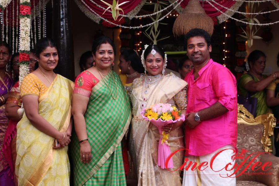 Celebrities at Shobi – Lalitha Shobi Baby Shower Function