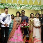 Shanthanu Keerthi Reception Stills