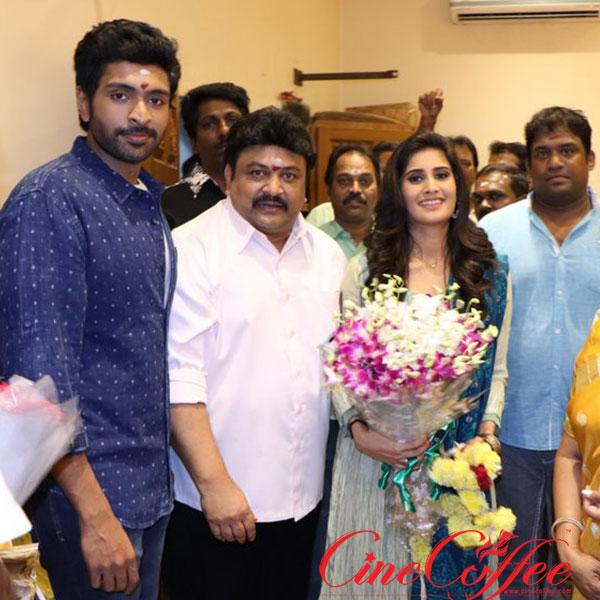 Veera Shivaji Movie Pooja Stills