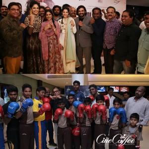Celebrities at Irudhi Suttru Movie Premiere Stills