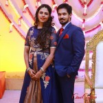 Actor Nakul Wedding Reception Stills