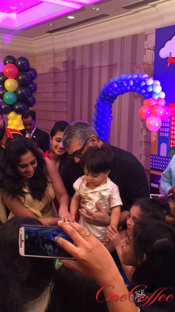 Kutty Thala Aadvik Ajith Kumar Birthday Celebration Stills
