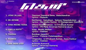 Theri mp3 audio songs