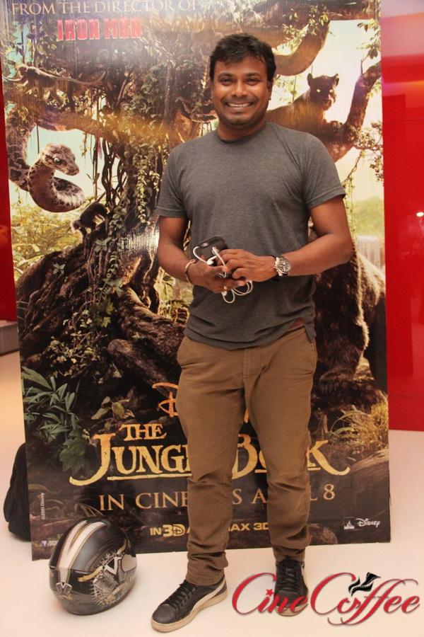 Celebrities at Jungle book Premiere