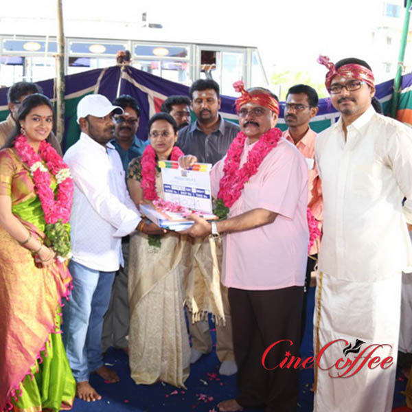 Vijay 60 movie pooja stills