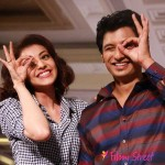 Jiiva and Kajal Aggarwal At  Anams Man  fashion show