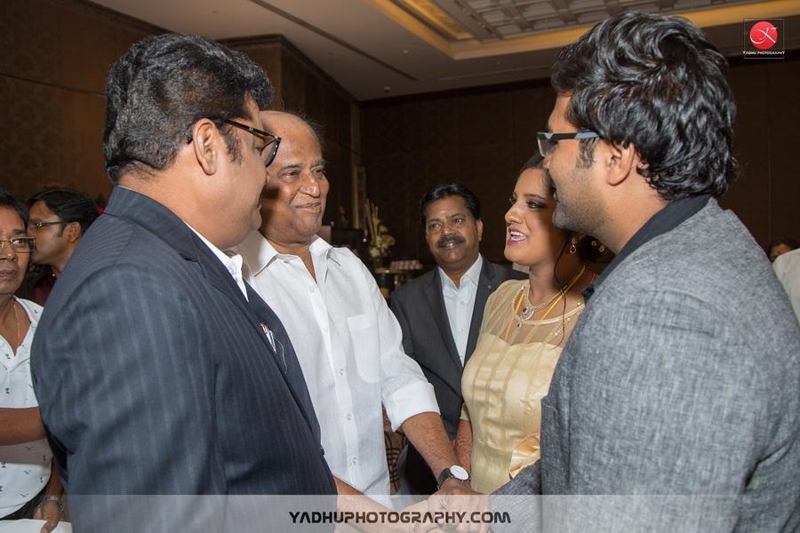 KS Ravikumar Daughter Wedding Reception Photos