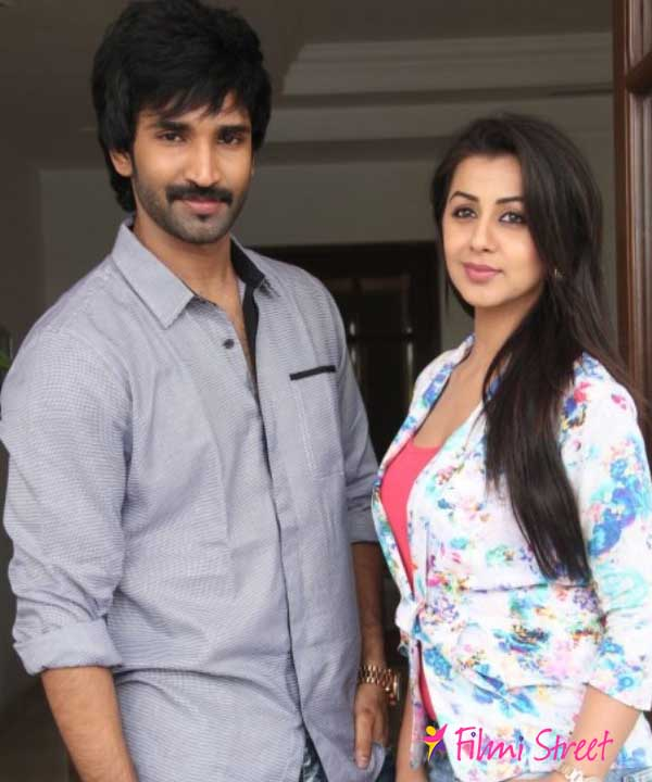 Aadhi, Nikki together again