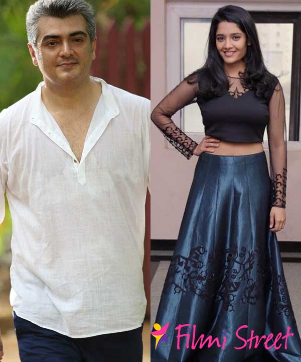 Ritika to romance Ajith?