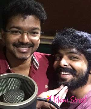 G V Prakash's tribute to Vijay