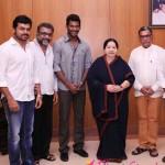 Nasser, Vishal attend Jayalalithaa swearing-in
