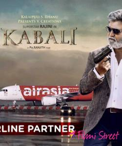 Air Asia is the official Airline Partner for Rajinikanth's Kabali