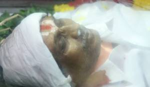 Santhanam Father Neelamegam Passed away Photos