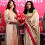 Actress Sneha  at Vcare's global institute health sciences Convocation 2017
