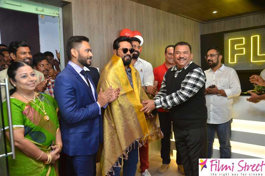 Actor Sarathkumar Inaugurated Flux Fitness Studio At OMR