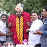 Actor Vishal Birthday celebration in Nadigar Sangam