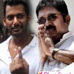 டிடிவி தினகரனுடன் நடிகர் விஷால் ரகசிய சந்திப்பு