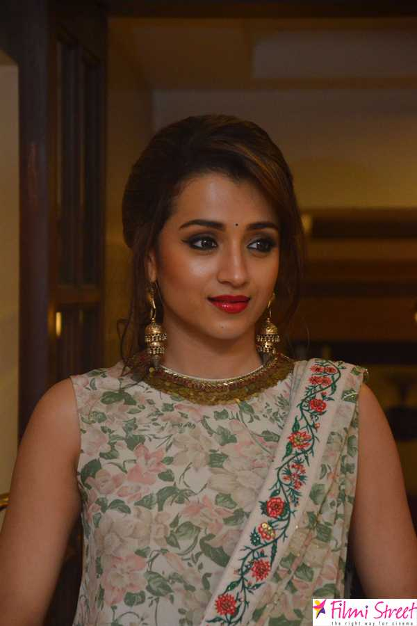 Trisha at UNICEF press meet photos