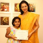 Actress Gowthami visit in Ganesh art gallery