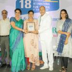 கலைமாமணி ஐஸ்வர்யா ராஜேஷுக்கு சென்னை சர்வதேச திரைப்பட விழாவிலும் விருது