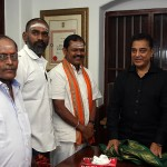 Arjun Sampath Photos With Mr Kamal Haasan