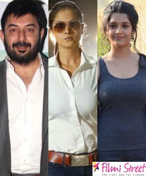 அரவிந்த் சாமி – ரித்திகா சிங்  நடிக்கும் திரைப்படத்தில் நடிகை சிம்ரன் முக்கிய வேடத்தில் நடிக்கிறார்