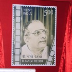 COMMEMORATIVE POSTAGE STAMP AND BOOK RELEASE FUNCTION ON SHRI B.NAGI REDDI