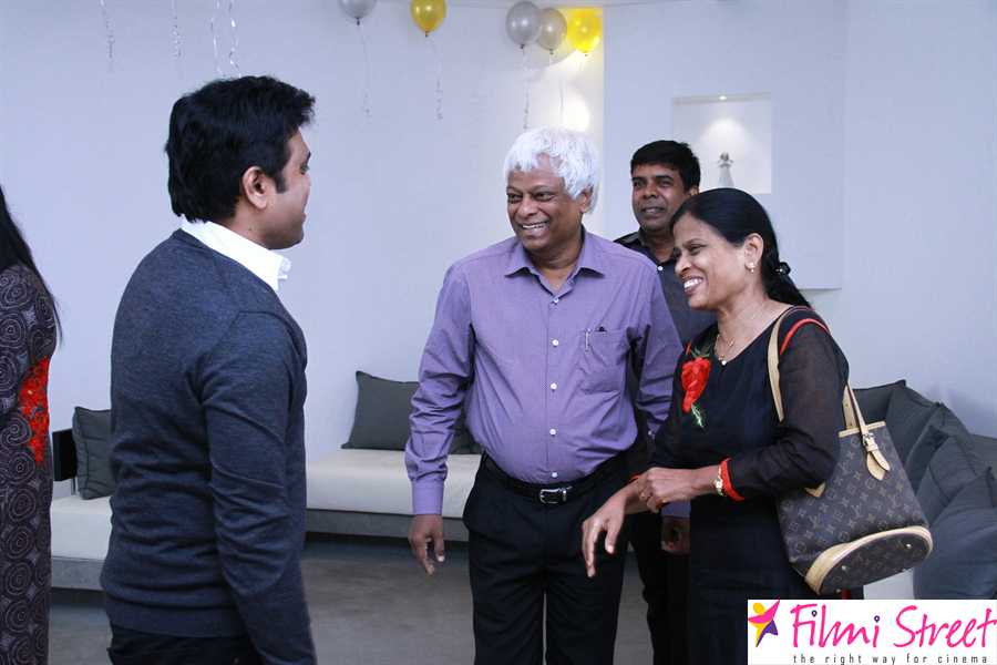 Celebrities at Harris Jayaraj studio launch