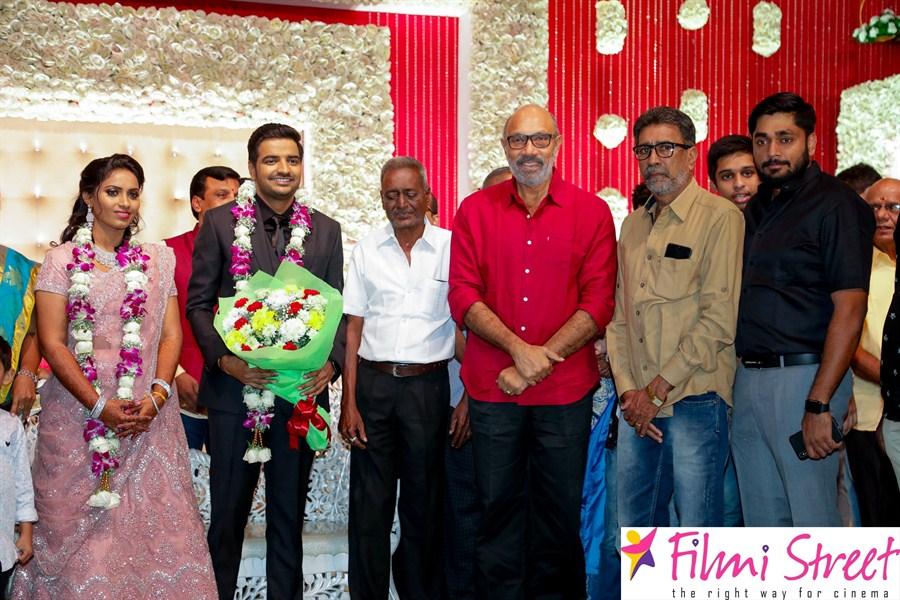 Comedy Actor Sathish Marriage Photos