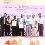DR MGR University india book of record events photos