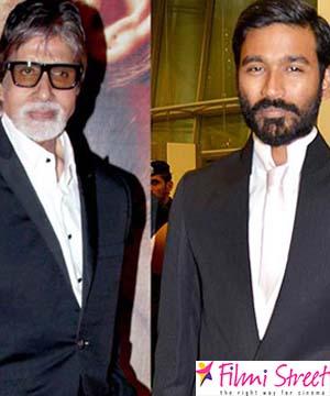 Dhanush and Amitabh Bachchan
