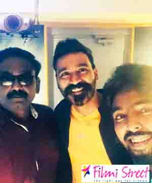 Dhanush sings in GV Prakashs Jail movie