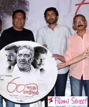 Director Radhamohan done dubbing for Prakash Raaj in 60 Vayathu Maaniram movie