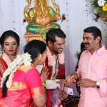 Director Ramadoss Son Wedding Reception Photos
