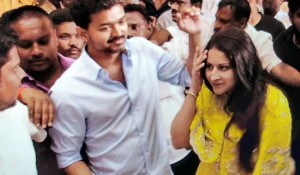 Thalapathy Vijay Mass Entry in Pondicherry Function mp3 audio songs
