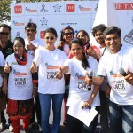 ACTRESS GAUTHAMI's LIFE AGAIN FOUNDATION CONDUCTING WINNER WALKS